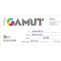 Full Gamut Gift Voucher $400